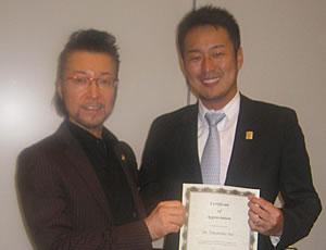 東京国際フォーラムにて菅井先生